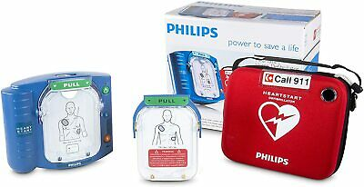 Philips Heartstart Aed Defibrillator Carry Case M5068a-c02 New Sealed Dbl Box