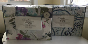 Brand new queen-sized bamboo sheet sets 'high end'
