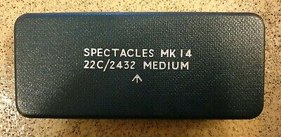 Box For Spectacles Mk14 22c/2432 Medium Very Good Used Condition.
