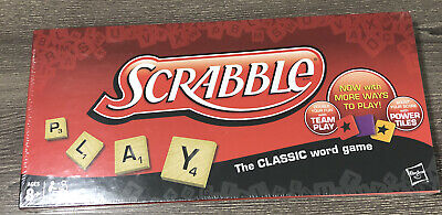 Hasbro Scrabble Board Game The Classic Word Game Original Parker Brothers New
