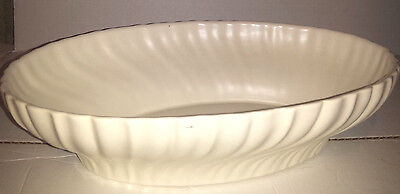 "Gladding McBean Franciscan GMcB 14"" Serving Bowl Coronado Swirl Ivory"