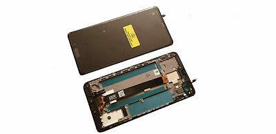 Original HTC U Ultra LCD Display Touchscreen Rahmen Cover Glas Reparatur schwarz