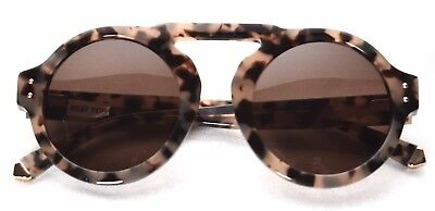 Kate Young for Tura K537 Tortoise Round Sunglasses (Young Sunglasses)