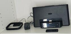 SONY ICF-CS15iPN Speaker Dock/Clock Radio For iPod & iPhone Tested w/Remote