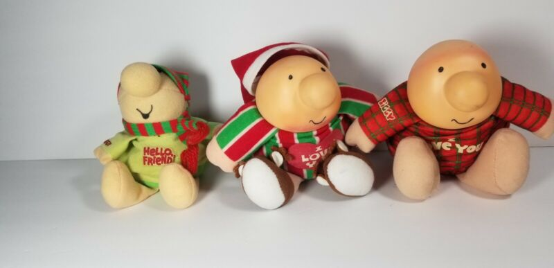 ZIGGY Lot Of 3 Vintage Plush