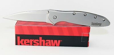 Kershaw Leek Stainless Assisted Opening Knife 1660 Ken Onion Design Plain Edge