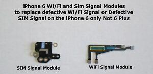 Apple iPhone 6 WiFi Antenna Flex Bracket + GPS + Bluetooth Module Set