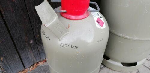 Propan gasflasche 5 kg Grau Leer