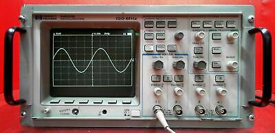 Hp - Agilent - Keysight 54602b 2 Channel 150 Mhz Oscilloscope 3409a00463