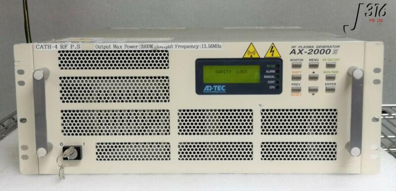 16275 Adtec Rf Plasma Generator Ax-2000iii