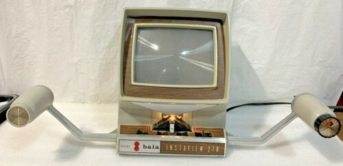 Baia Instaview 270 Dual 8 Electric Drive Film Editor W/ Instructions & Accessory