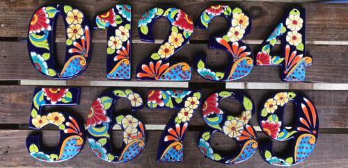 "Talavera 6"" House Numbers"