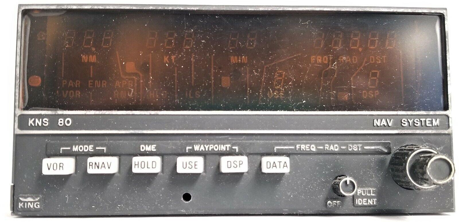 066-4008-00  KNS 80 NAV SYSTEM VOR/LOC/DME/RNAV/GS