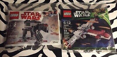 NEW Lego Star Wars First Order Heavy Assault Walker 30497 & Z-95 Headhunter 3024