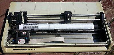 Okidata Microline 193 GE8251B 24-Pin Parallel Dot Matrix Impact Printer - Beige