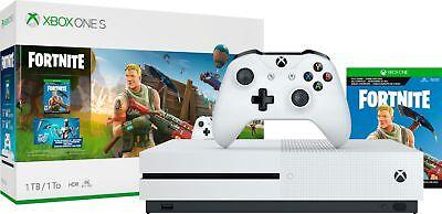 Microsoft - Xbox One S 1TB Fortnite Sheaf with 4K Ultra HD Blu-ray