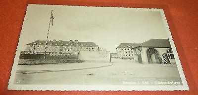 Bunzlau SS Feldpost Polizei Division Postkarte Blücher Kaserne Bunzlau Schlesien