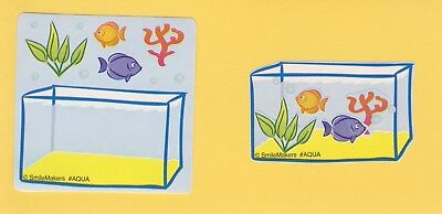 15 Make Your Own Fish Aquarium - Stickers - Party Favors - Rewards (Fish Party Favors)