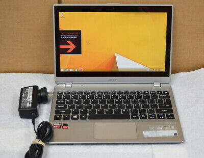 "Acer Aspire V5-122P-0889 - 11.6"" - A4 1250 - 4 GB RAM - 500 GB HDD Win 8"