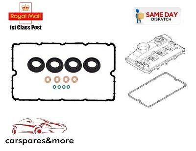 Citroen Relay 2.2 HDi 06-16 Rocker Cover Gasket Injector Seal Washer Oring Set
