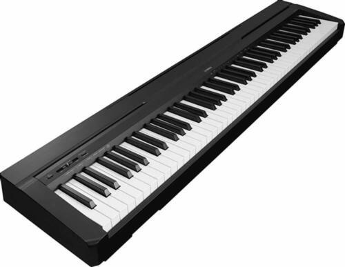 Yamaha P-45: 88-Key Portable Digital Piano, Notebook Stand w/ Adapter
