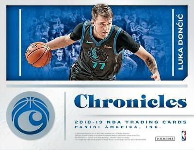 Nba Basketball Pick - 2018-19 Panini Chronicles NBA Basketball Cards Pick from List 1-235 W/Rookies