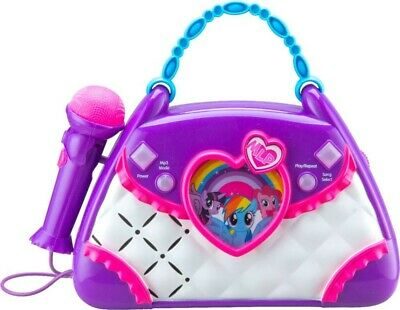 KIDdesigns - My Little Pony Magical Music Sing-Along Boombox Karaoke System](Children's Boombox)