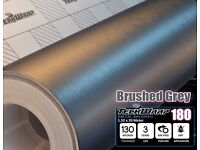 Graphite Brush Grey High Quality Vinyl all purpose multi sizes sheets