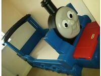 Thomas the tank bed with mattress