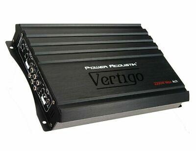 NEW Power Acoustik Vertigo VA4-2200D 2200 Watts 4 Channel Full Range Amplifier