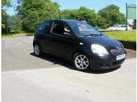 """2005 Black Toyota Yaris1.3 77 only """""""" reduced for quick sale"""""""""""