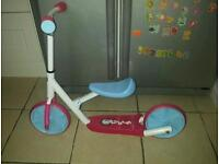 Rollers by Zinc Balance bike to online scooter