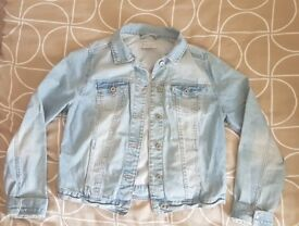 New Look denim jacket size 12-14