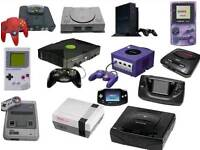 WANTED RETRO GAMES & CONSOLES , NINTENDO, SEGA, SONY BY COLLECTOR