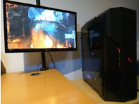 Powerful Gaming PC i7 4th gen GTX 1070 16GB RAM SSD+HDD DVDRW W10 Pro EXCELLENT CONDITION LIKE NEW