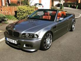 BMW E46 M3 2003 manual facelift convertible