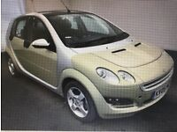 2005 smart Forfour 1.3 petrol 5 doors