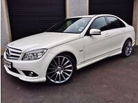 2011 MERCEDES C250 BLUEEFFICIENCY AMG SPORT CDI AUTO NOT C220 BMW 320D 330D M SPORT PASSAT JETTA