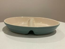 Secla Divided Cook and Serve Dish, 16x21cm