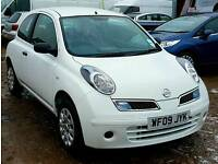 2009 Nissan Micra 1.2L 16V Visia 3dr White *ONLY 5K MILES* *New MOT* *FSH*