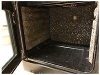 Rangemaster 110 Electric Range Cooker Ceramic Black