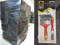 JOB LOT WHOLESALE 5 x pallets of paint brushes - make me an offer
