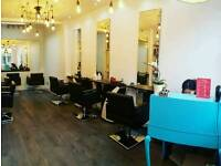 Rent Hairdressing chair hairdresser space available to let Finchely road / West Hampstead
