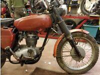 1969 Triumph TR25W Trophy. 250cc. Matching Numbers. Buff Log Book
