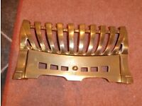 Solid Brass frontage for Living gas fire