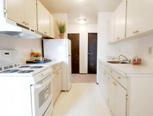 2 Bedroom Apt - Walikng distance to Galaxy Theatre & Giant Tiger