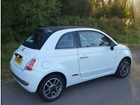 Stunning fiat 500c convertible * blue * cambelt changed * high spec * 500 like corsa clio ds3 polo