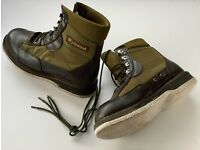 """""""WYCHWOOD"""" wading boots (for stocking foot waders) size 11/12"""