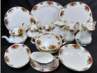 Wanted - Royal Albert china, large dinner, tea, coffee, extras set