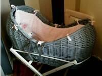 Grey noah pod basket